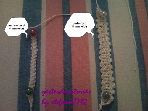 compare between two romanian lace cords